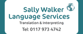 Sally Walker Language Services - 0117 973 4742