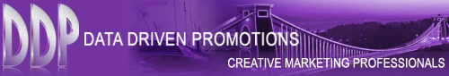 Data Driven Promotions - Bristol 0117 954 8200